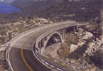[Photo of Lincoln Highway Bridge in at Donner Pass in California]